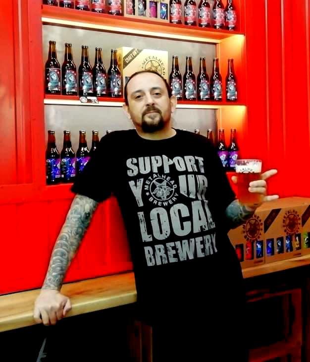 Тодор Георгиев - главен пивовар на Металхед
