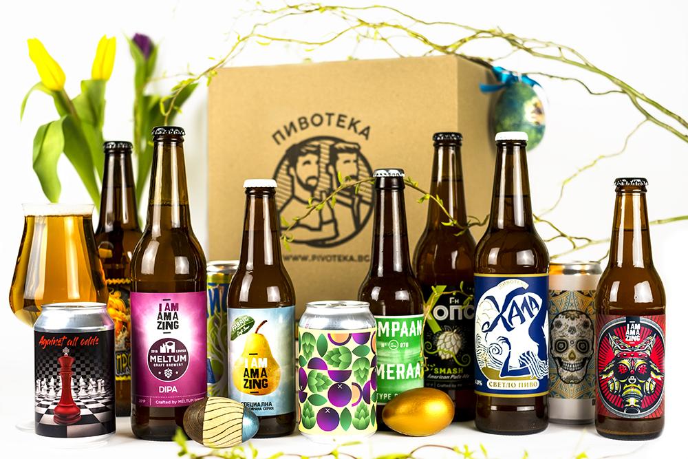 Easter beer pack by PIVOTEKA