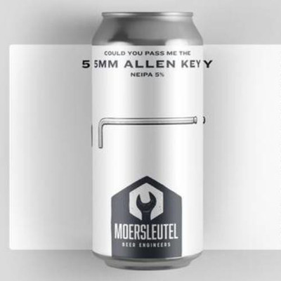 Moersleutel Could You Pass Me the 5MM Allen Key