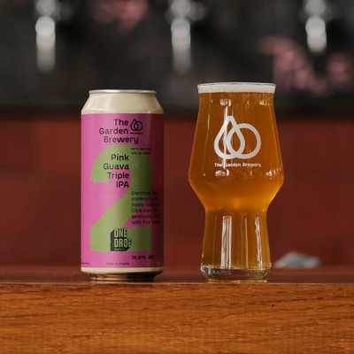 The Garden Brewery Pink Guava Triple IPA