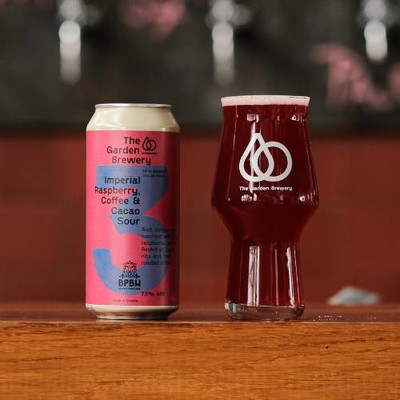 The Garden Brewery Imperial Raspberry, Coffee & Cacao Sour